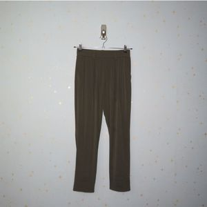 Express | Army Green Stretch Pants